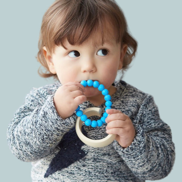 teething bracelet for mom and baby