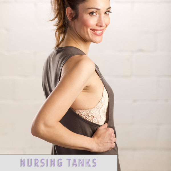 nursing tanks for mom