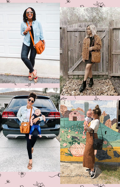 crossbody parent diaper bag - 4 looks we love