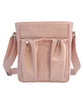diaper bag crossbody in blush