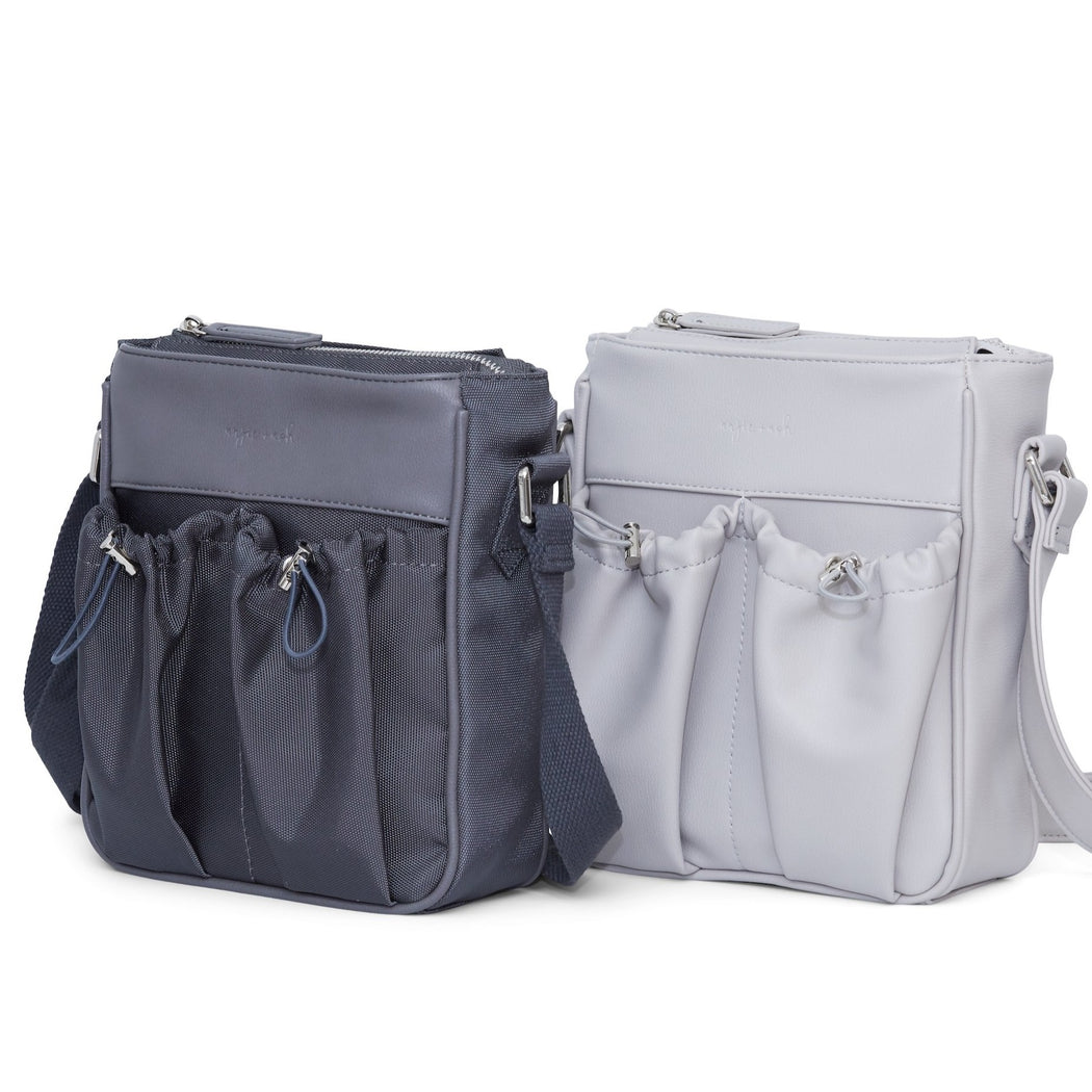 crossbody diaper bag slate, fog