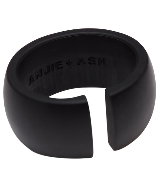 teething cuff toy in black 2