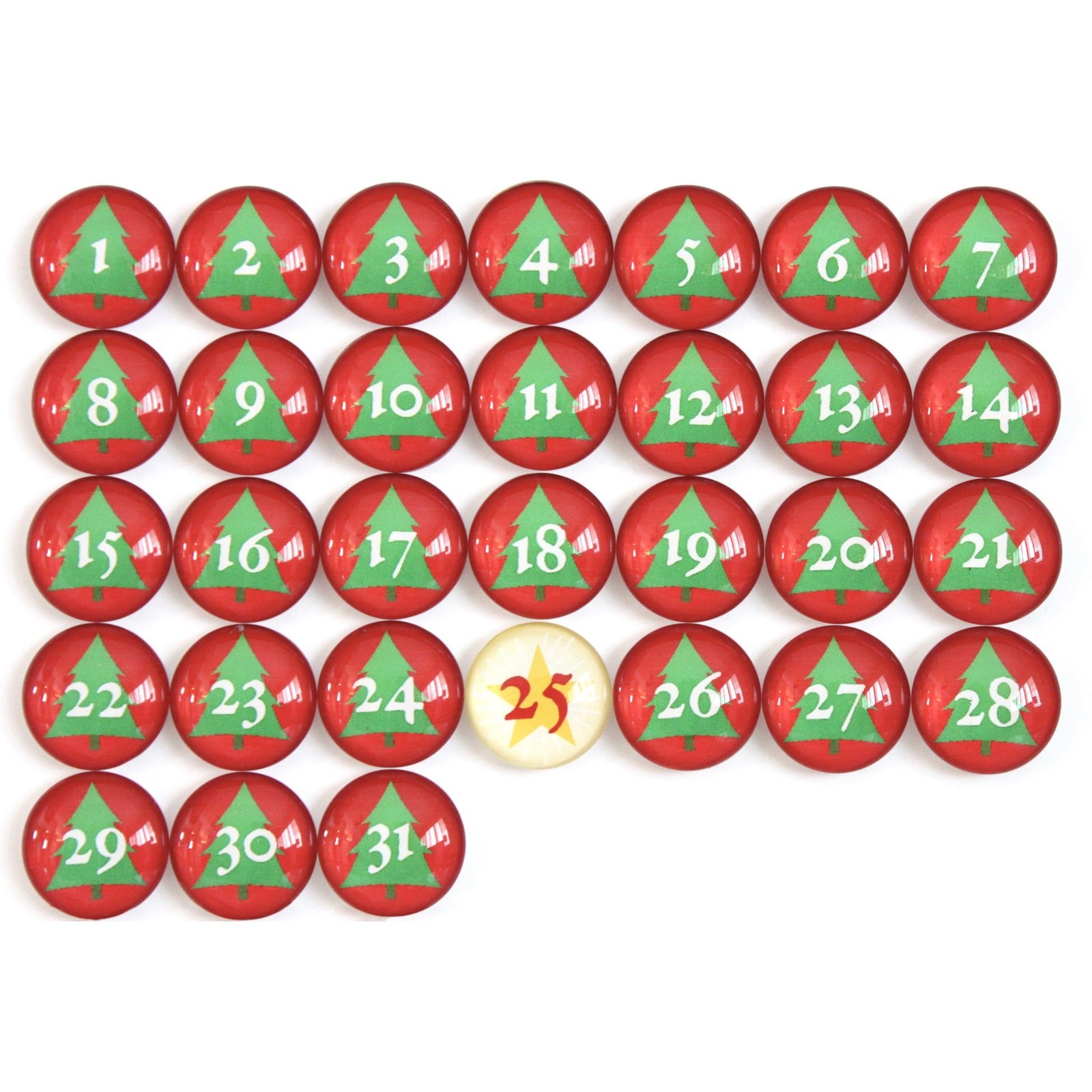 Number Magnets - Christmas!