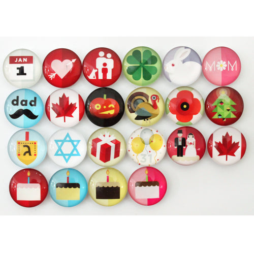 Number Magnets - Canadian Holidays!
