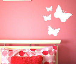 Lady Butterfly Decal Set