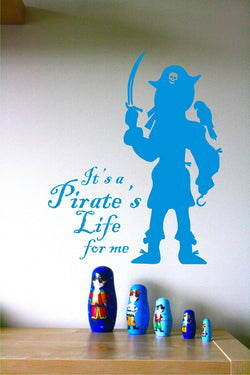 Pirate's Life for Me Decal