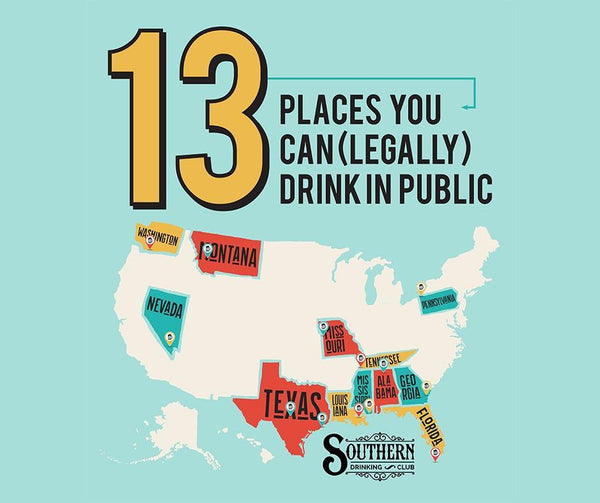 13 Places You Can (Legally) Drink in Public