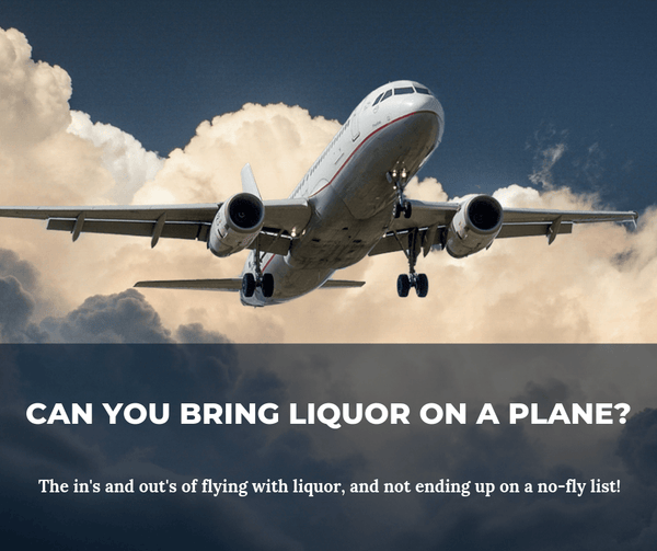 Can You Bring Liquor on a Plane???