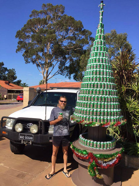 Aussie Man's Christmas Tree