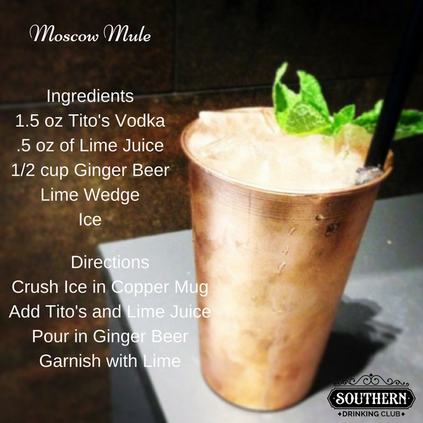 Drinking Club Drink of the Day - Moscow Mule