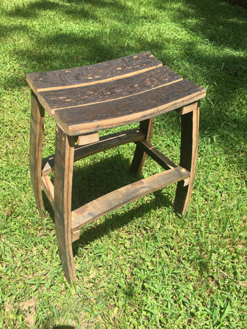 bourbon barrel stool