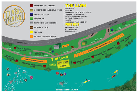 Outdoor Layout for Music Festival