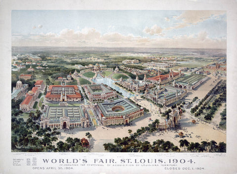 World Fair 1904 Where Southern Comfort Took Gold