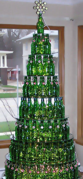grolsch beer Christmas Tree