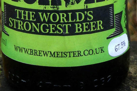 Worlds Strongest Beer