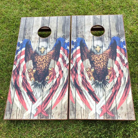 Cornhole Board Set - Texas Longhorns
