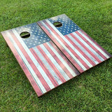 Cornhole Board Set - American Flag