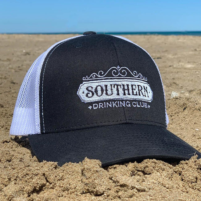 Bourbon Street Hat at Beach