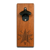 Wall Mount Republic of Texas Bottle Opener