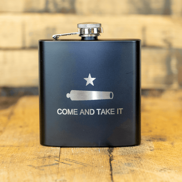Come and Take It - 6oz Flask Set