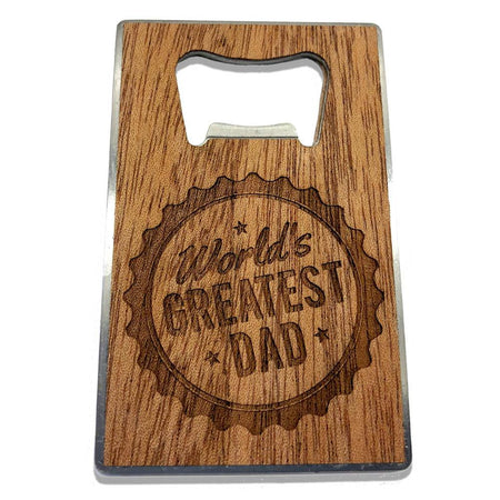 Magnetic Bottle Opener - Texas Come and Take It - Pecan