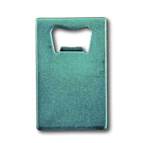 Credit Card Bottle Opener - Dazzling Teal