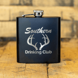 Deer Camp 6oz Hip Flask