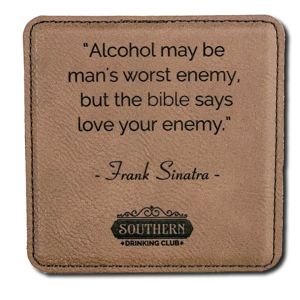 Drinking Quote Coaster Set