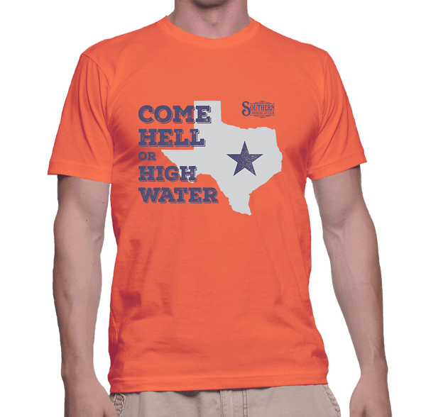 Hell or High Water Texas Shirt