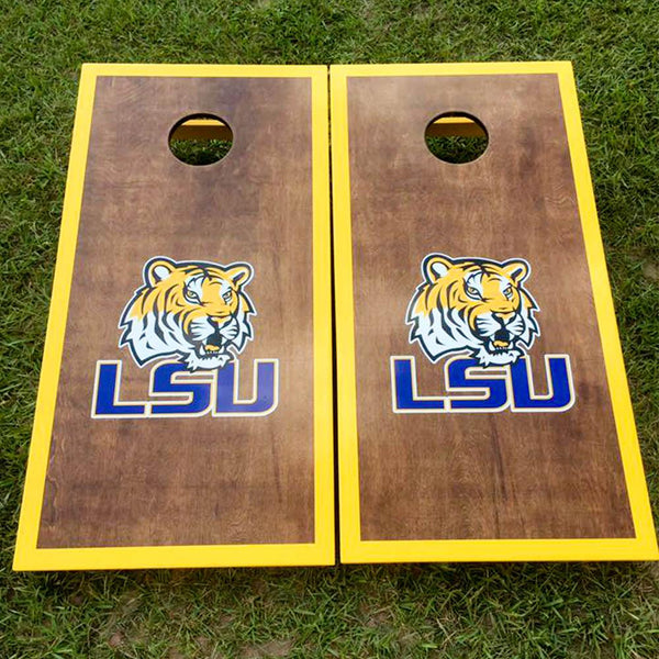 Cornhole Board Set - LSU Tigers