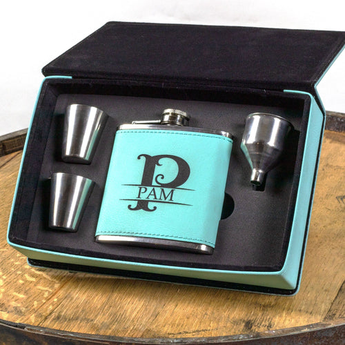 Womens Flask Gift Set