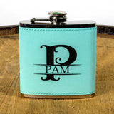 Womens Personalized Flask Gift Set