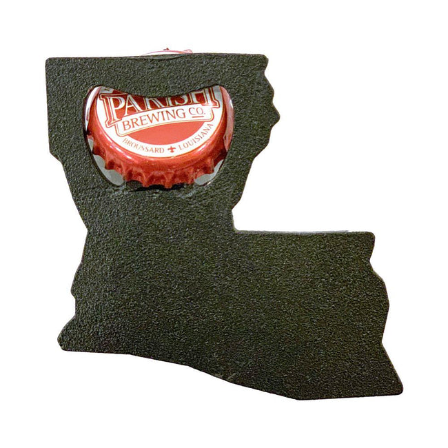 Louisiana Bottle Opener - Shape of the State