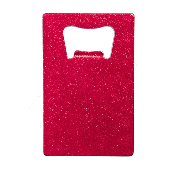Credit Card Bottle Opener - Dazzling Pink