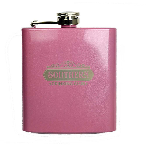 Pink Flask - 6 oz - Powder Coated