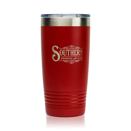 Wine Tumbler with Lid - Stainless Steel Stemless Tumblers