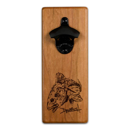 Magnetic Bottle Opener - David Danforth Redfish