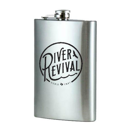 Flask - Stainless Steel 12 oz