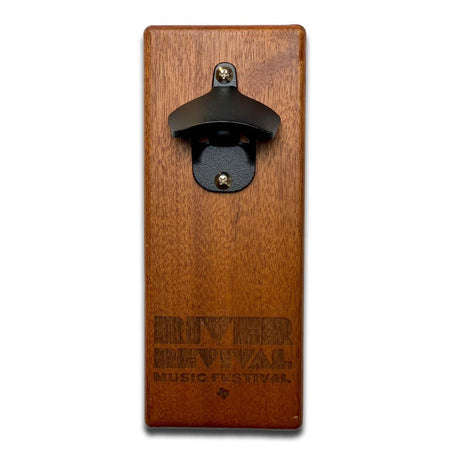 Magnetic Bottle Opener - Mahogany Cap n' Catch