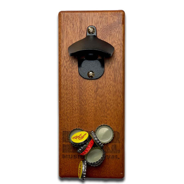 Magnetic Bottle Opener - River Revival - Mahogany