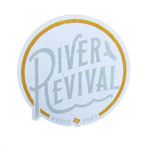 River Revival Sticker