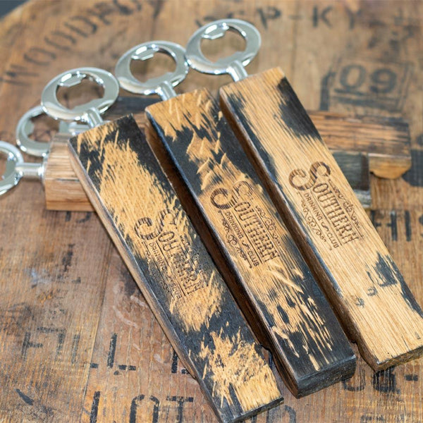 Whiskey Barrel Bottle Opener
