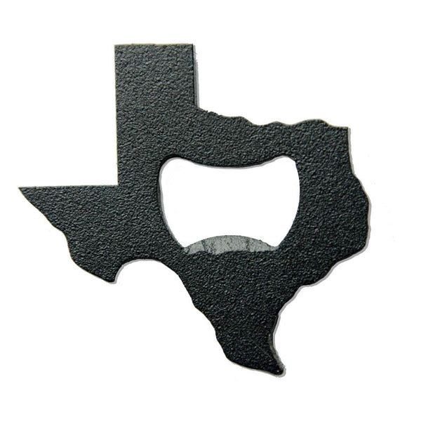 Texas Bottle Opener - Matte Black