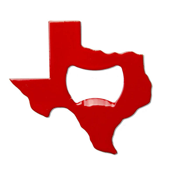 Texas Bottle Opener - Red