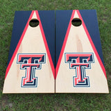 Cornhole Board Set - Texas Tech