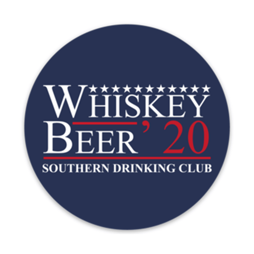 Whiskey Beer 2020 Decal