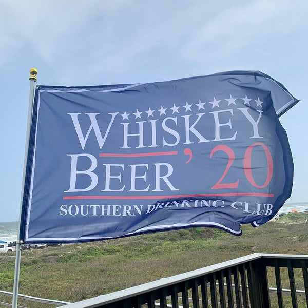Whiskey Beer 2020 Flag