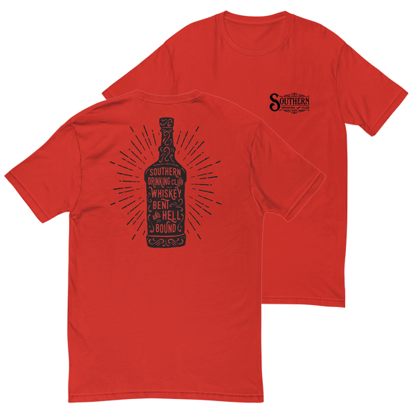 Whiskey Bent and Hell Bound T-Shirt Front and Back