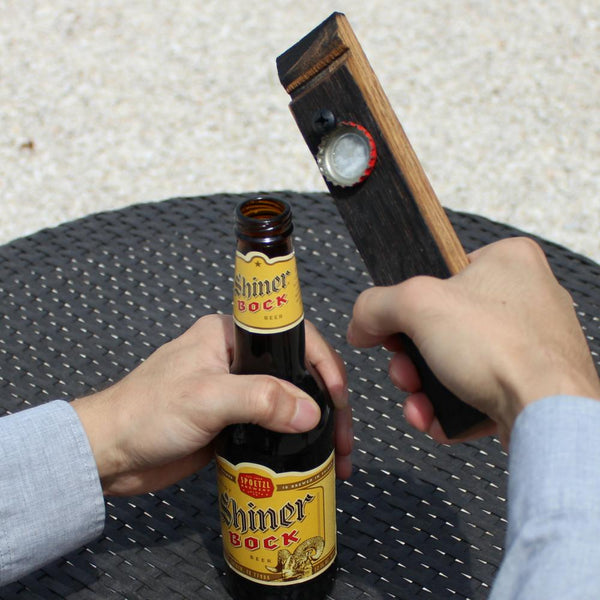 Used Barrel Bottle Opener