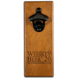 Magnetic Bottle Opener - Whiskey Beer 2020